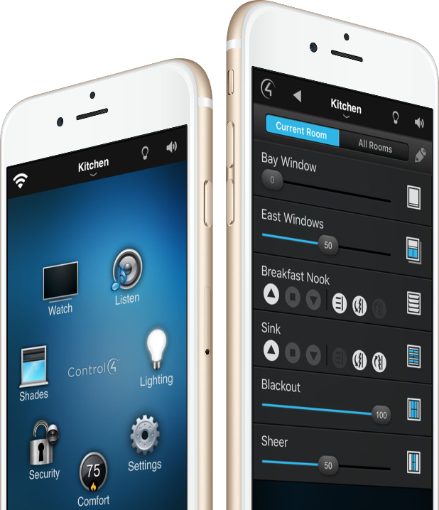 Control lighting scenes and turn off all your lights with a single touch.  sc 1 th 242 & Homesync | Montreal Home Automation